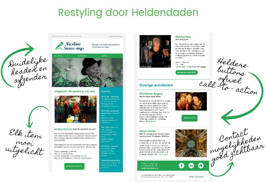 Restyling door Heldendaden