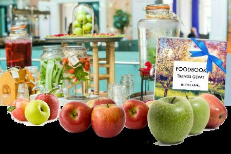 Grafisch ontwerp FoodBook voor Stadsschouwburg & Philharmonie Haarlem